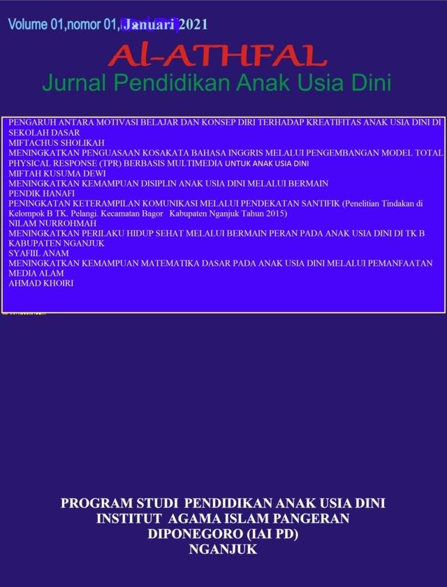 Cover Jurnal Al-Athfal IAI Pangeran Diponegoro Nganjuk